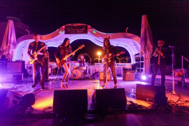 Concierto de 'Los Coronas' en Santos Ibiza (Fotos: Daniel Espinosa).