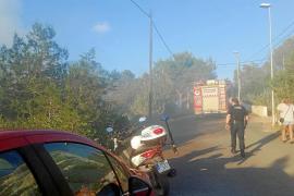 Sobresalto por un incendio en sa Serra
