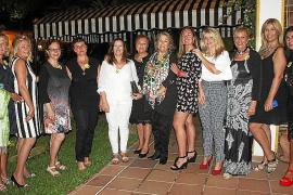 Cena entre amigas organizada por Manuela de la Vega