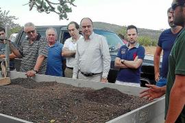 La planta de compostaje de Ca na Putxa acabaría con el problema de los lodos