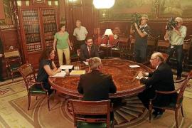 Cladera pide a Montoro que incluya en los Presupuestos un anticipo del REB