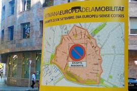 El Pacte suprimirá 10.478 plazas de aparcamiento el 22 de septiembre