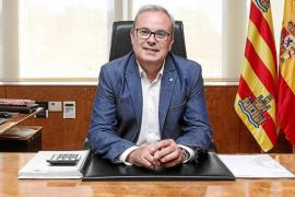 Vicent Torres vuelve al Consell d'Eivissa dos meses y medio después de sufrir un ictus