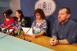 MÉS tilda de «neofascista» la cumbre del PP en la que participará Mariano Rajoy en Palma