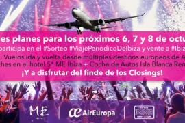 ¡SORTEO! Disfruta del fin de semana de los mejores cierres de Ibiza con Periódico de Ibiza y Formentera