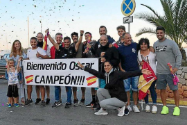 Óscar Cervantes, subcampeón individual y oro con la selección nacional española
