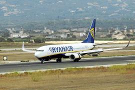 El Govern abre un expediente contra Ryanair por cancelar 8 vuelos en Balears