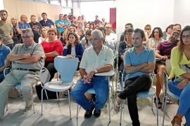 «Proteged la iglesia de Sant Jordi sin perder el derecho sobre nuestras propiedades»