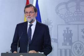 """Rajoy avisa de que el referéndum """"ya no se puede celebrar"""" y ofrece diálogo en el marco de la ley"""