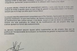 """El jefe de Mossos pide a los agentes ser """"especialmente cuidadosos con el uso de la fuerza"""""""