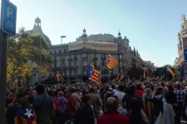 El Ayuntamiento de Barcelona cifra en 40.000 las personas concentradas ante Economía