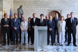 Puigdemont desafía al Constitucional y publica los colegios electorales para votar en el referéndum ilegal del 1-O