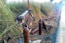 Tres motoristas resultan heridos en sendos accidentes en Vila y un conductor se da a la fuga