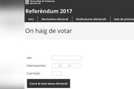 La jueza ordena deshabilitar la web que indica dónde puede votar cada ciudadano
