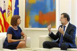 El Govern lamenta que Rajoy no tenga un hueco para hablar hoy con Armengol