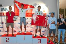 Mateo Sanz, subcampeón del mundo