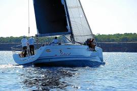 El 'Ítaca', barco vencedor de las XXIX Jornadas Náuticas Pitiusas