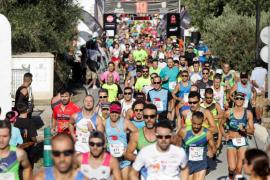 Anass Bourass e Indre Barkute ganan en la Cursa Popular del Pla de Sant Mateu