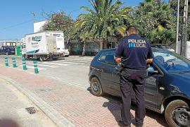Asaltan a un mujer a plena luz del día en Sant Rafel y le roban en torno a 14.000 euros