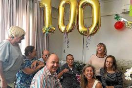 Catalina Marí Yern celebró ayer sus cien años de vida