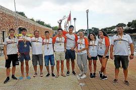 Nueve medallas para el Club Náutic Sant Antoni en Ciutadella