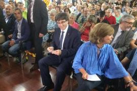"""Puigdemont: """"Quedan tres días de campaña. Esto no lo para nadie"""""""