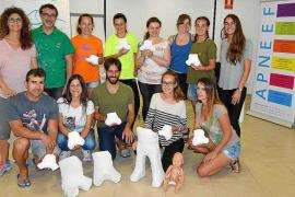 Apneef impartió el segundo módulo del curso de adaptaciones posturales con yeso