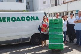 Mercadona impulsa su colaboración con tres comedores sociales de Ibiza gestionados por Cáritas