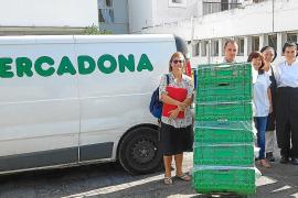 Mercadona inicia su colaboración diaria con los comedores sociales de Ibiza