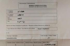 Empiezan a llegar las notificaciones de la Generalitat para formar las mesas de votación