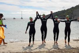 De Formentera a Ibiza en 10.800 brazadas
