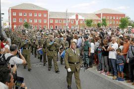 Se han inscrito 127 personas a la jura de bandera para civiles de Santa Eulària