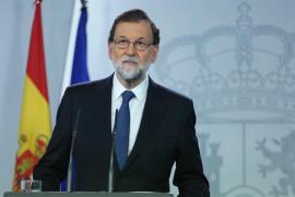 """Rajoy: """"Hoy no ha habido un referéndum de independencia en Cataluña"""""""