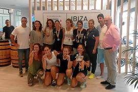El equipo femenino del Ibiza Club de Campo, subcampeón balear