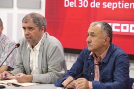 CCOO y UGT dicen que la solución en Cataluña no es la fuerza policial, sino el diálogo y la democracia