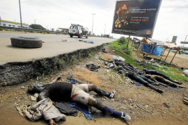 Disparos de artillería pesada alrededor de la residencia presidencial de Costa de Marfil