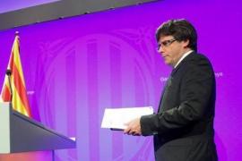 Puigdemont exige la retirada de la Guardia Civil y la Policía Nacional de Cataluña