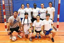 La Copa femenina, privada y con cinco equipos participantes