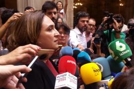 El Ayuntamiento de Barcelona suspende la actividad institucional