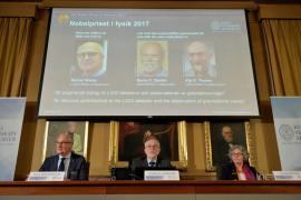 Nobel de Física 2017 para los descubridores de las ondas gravitacionales