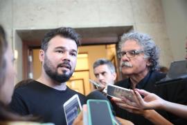 """Rufián identifica el discurso del rey con el del PP: """"FeliPPe"""""""
