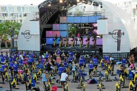 Hard Rock y Bfit organizan el pedaleo en favor de RqueR