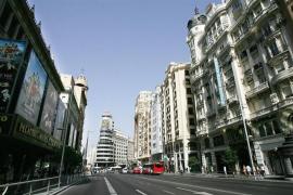 Las restricciones al tráfico en la Gran Vía de Madrid serán permanentes a partir de Navidad
