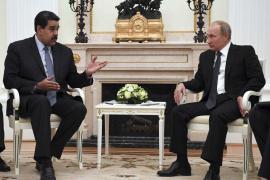 """Putin ensalza la capacidad de diálogo de Maduro con """"las fuerzas políticas que se oponen"""""""