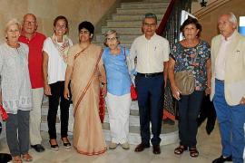 Visita de Sister Rekha a Mallorca