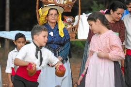 Día de 'ballada' y juegos en el Pou de Forada