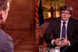 Carles Puigdemont confirma que llevará al pleno de este martes una declaración de independencia