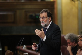 Rajoy comparecerá mañana en el Congreso para hablar de la crisis catalana