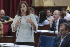 Armengol pide a Puigdemont que no declare unilateralmente la independencia