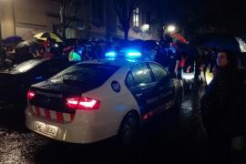 Los Mossos d'Esquadra informan al TSJC que las fuerzas policiales del Estado cargaron sin informarles